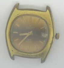 VTG CERTINA Club 2000 Gold Plated Watch. Cal: 25-651M. For Repairs