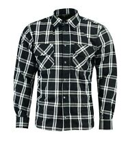 RKsports Motorcycle Mesh lined Black/whiteNew Shirt Men Ladies CE Armoured