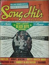 1967 Song Hits Magazine (Beach Boys Cvr, Rolling Stones, Turtles, Lou Christie +