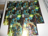 Lot of 10 1993 X-O Manowar Comics #0 Holo Foil Cover from Valiant Comics