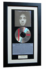 BILLY JOEL Piano Man CLASSIC CD GALLERY QUALITY FRAMED+EXPRESS GLOBAL SHIP