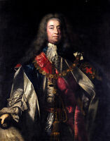 Oil painting Joshua Reynolds - Portrait Of Lionel Sackville, 1st Duke Of Dorset