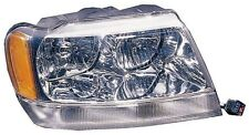 Headlight Assembly Passenger Side Fits 1999-2001 Jeep Grand Cherokee Limited