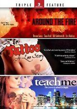 Around the Fire/Tattoo: A Love Story/Teach Me (DVD, 2011, 2-Disc Set) - NEW!!