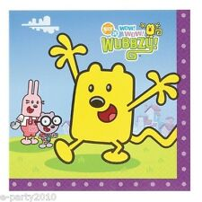 WOW! WOW! WUBBZY LARGE NAPKINS (16) ~ Birthday Party Supplies Dinner Luncheon