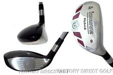 SENIORS made Hybrid Graphite taylor fit #9 Iron Wood rescue 37° Golf Club +HC
