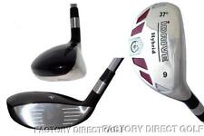 New Hybrid made Womens Graphite taylor fit #9 Iron Wood rescue 37° Golf Club +HC