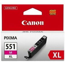 Genuine Canon CLI-551XL M Magenta Ink Cartridge for Pixma MG5650 MG6650 MG7550