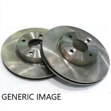 BRAKE DISCS (X2) FITS FRONT JAGUAR F TYPE XF 355mm BRAKE ENGINEERING DI956813S