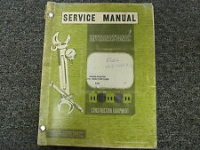 International Roosa Master Fuel Injection Pump w/IH Engine Service Repair Manual