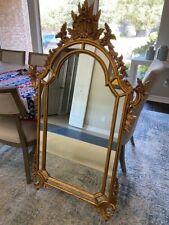 Italian La Barge mirror, hand carved 57 x 33