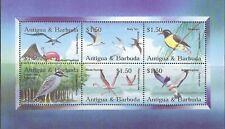 ANTIGUA:2002 Birds sheetlet SG3641-6  MNH