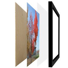11 By 17 Inch Picture Frame Without Mat To Display 11x17 Wall Mounting Frames