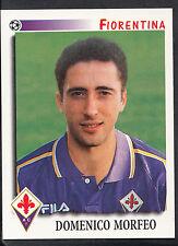 Panini Calciatori Football 1997 Sticker, No 123, Fiorentina - Domenico Morfeo