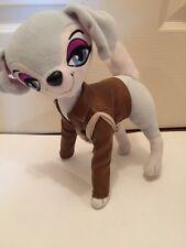 "RARE 7"" Bratz Petz Dog FAUX LEATHER  COAT  AND PURSE PLUSH Toys Stuffed Animals"