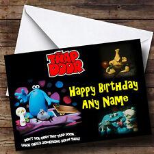 Trap Door Personalised Birthday Greetings Card