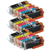 15pk PGI250XL CLI251XL Ink Cartridge w/Chip For Canon PIXMA MG5620 MG6620 MG7520