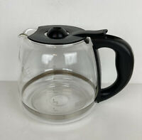 Black & Decker 12 Cup Coffee Maker Replacement Glass Carafe CM4000S Type 1 Black