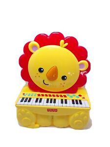 Fisher-Price Music Keyboard Piano Lion Great for Kids Play & Early Learning