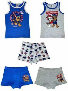 Vorteils Package für Jungen oder Mädchen - Paw Patrol - Unterhemden + Unterhosen