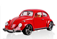 1:18 Vintage VW Beetle Superior 1967 Model Car Diecast Gift Toy Vehicle Kids Red