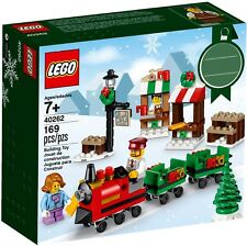 LEGO - CHRISTMAS TRAIN RIDE / WINTER HOLIDAY SEASONAL 2017 SANTA DECORATION SET