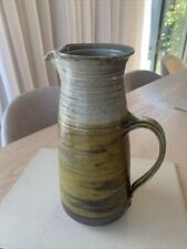Large  Studio Pottery Jug By Micki Schloessingk