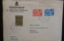 Iceland Island Registered 1969 Nordic Day & 1963 Museum Frimerkjasalan env