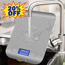 More details for digital kitchen scales electronic balance lcd food weight postal scale #primeday