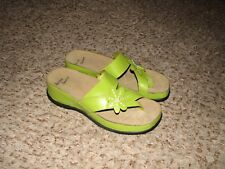 New Without Box GREEN BELLINI SPORT FIONN LEATHER SANDALS SZ 8 M