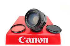 "Canon Lens Fd 50mm/1.2 "" With Service "" Mint Condition - Specialist Retailer"