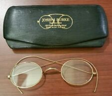 vintage gold wire frame glasses
