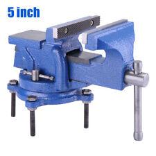 Schraubstock Tischschraubstock Amboss 125 mm 360° drehbar Werkbank