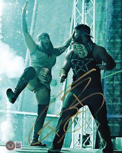 BECKETT ODB SIGNED 8x10 PHOTO BB40076 WWF-WWE-AEW-TNA-ECW-WCW-IMPACT O. D. B.