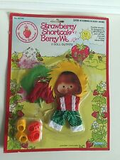 Vintage Strawberry Shortcake Outfits: Berry Sunny & Berry Patch w/ Shoes (NIP)