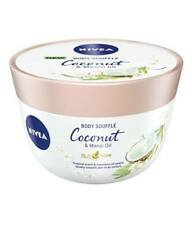 Nivea Body Lotion Milk Souffle Coconut & Monoi Oil Vevet Smooth Skin 200 ml