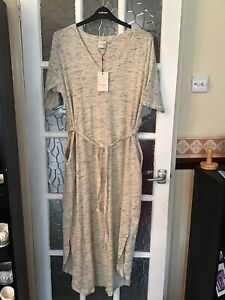 Grey Maxi Sun Dress BNWT Juna Rose 12/18