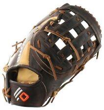 """New Nokona The Alpha First Baseman Mitt LHT 12.5"""" Baseball Glove Brown"""