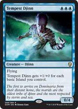 TEMPEST DJINN Dominaria MTG Blue Creature — Djinn Rare