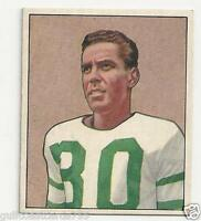 1950 BOWMAN FOOTBALL BOSH PRITCHARD CARD #25 PHILADELPHIA EAGLES BV $30.00