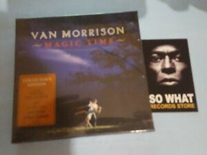 VAN MORRISON - MAGIC TIME COLLECTORS EDITION. BOX  CD NEW SEALED