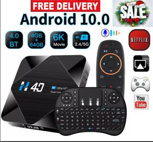 Hight Quality Android 10.0 smart TV Box Allwinner Full HD  4GB 64GB Set Top Box