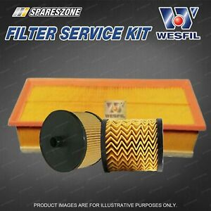 Oil Air Fuel Filter Kit for Fiat Scudo 272 2.0L JTD 2008-On Premium Quality