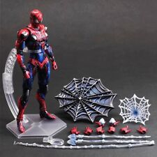 "10"" Square Enix Variant Play Arts Kai Marvel Spider-Man Action Figure Statue Toy"