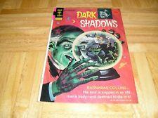 Dark Shadows Comic Book April 1974 #25 Rare