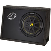 "Kicker TC104 Comp Series 10"" Loaded Enclosure 4 Ohm"
