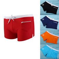Men's Boxer Briefs Swimwear Shorts Trunks Swimwear Beach Pants Underwear Fashion