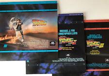 Back To The Future Trilogy Laserdisc Set: Part I, II, III