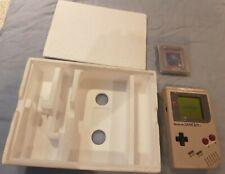 Nintendo Game Boy Grey mint in box with original documentation ect