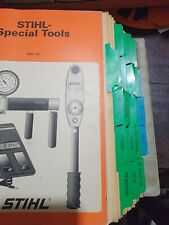 Stihl Trimmer And Other Equipment Service Manuals Old